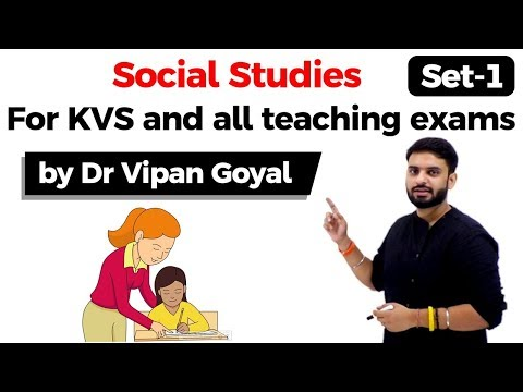 Social Studies l KVS l CTET l UPTET l MPTET and all other teaching exams l Dr Vipan Goyal