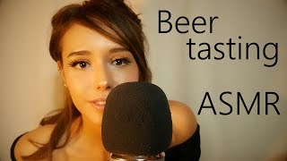 ASMR Beer Tasting + Tapping, Whispering! 🍺🍺🍺 (happy New Years! 🎉)
