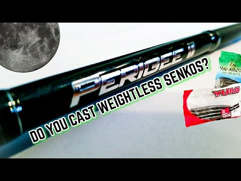KastKing Perigee II Rod Review 2018 (My Best Rod for Weightless Senkos/Stick Baits/Flukes)