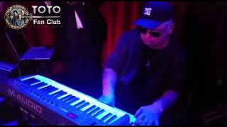 <b>David Paich</b> TOTO Jammin In Funky Claudes In Montreux