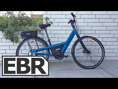 eVox City Video Review – Sturdy Urban Electric Bike from Canada