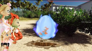 BabyBus - Tiki Mimi câu chuyện thú vị của quả trứng khổng lồ bị chôn dưới các biển