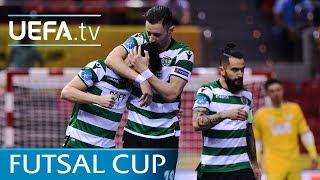 Futsal Cup highlights: Győr v Sporting CP