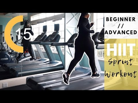 BURN FAT FASTER | SIMPLE  BEGINNERS HIIT & ADVANCED HIIT WORKOUT ROUTINE | HOW TO SPRINT ROUTINE