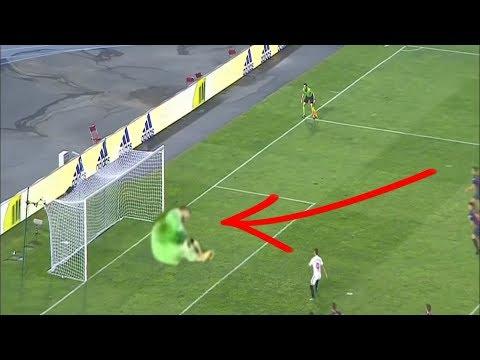 Ter Stegen Penalty Save VS Sevilla 2-1 Spain Super Cup 12/08/2018 HD