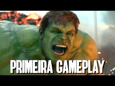 Marvel's Avengers - A Primeira Gameplay do Jogo dos Vingadores (React)