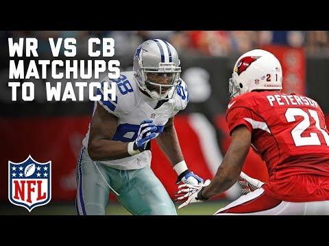 Wide Receiver vs. Cornerback Matchups to Watch in Week 3 | Total Access | NFL