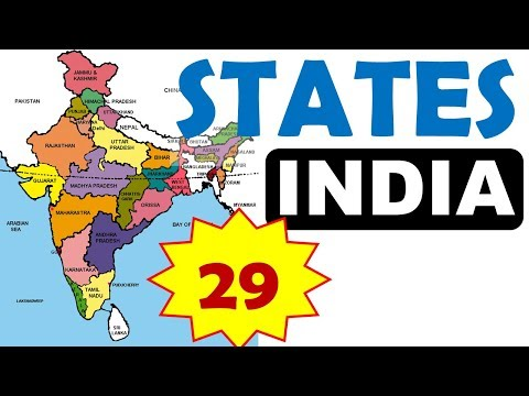 India 29 States and Capitals | Latest General Knowledge