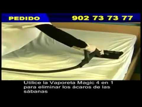 Vaporeta Magic con plancha 4 en 1 / Limpieza ecológica a vapor