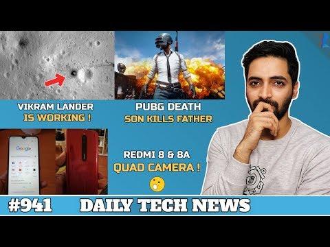 Redmi 8 & 8A,PUBG Death India,Vikram Lander Real Photo,Joker Android Malware,Iphone 11 Price #941