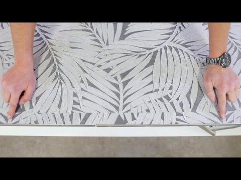 Tapete mit versetzter Ansatz tapezieren