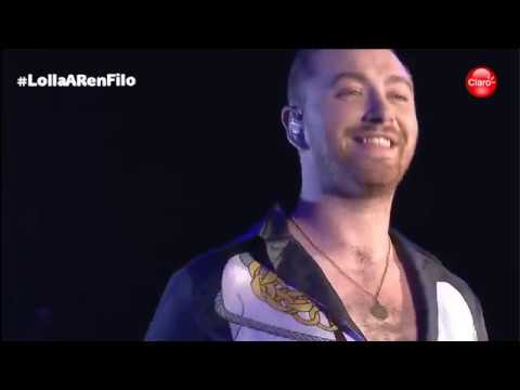 Sam Smith-Dancing With A Stranger+I'm Not The Only One (live At Lollapalooza Argentina 2019)