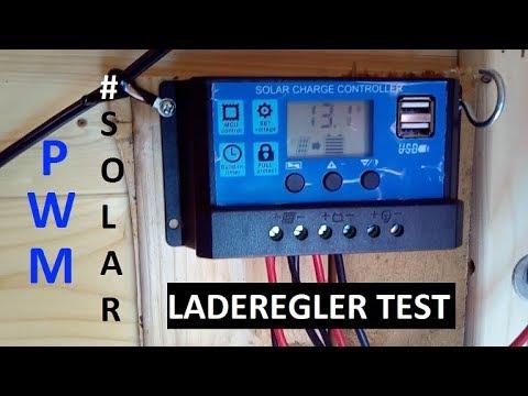 Billiger 10 Euro PWM Laderegler im CHECK #SOLAR LADEREGLER 12/24 Volt