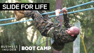 Why Marines Train On A Confidence Course In Boot Camp   Boot Camp