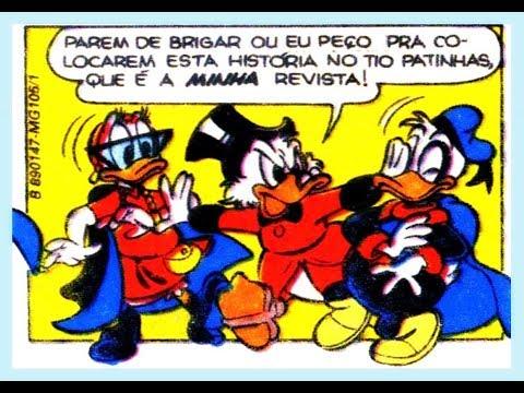 Super Pato e Super Pata - Um vírus muito estranho - quadrinhos Disney