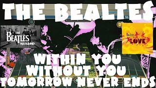 Within You Without You/Tomorrow Never Knows - The Beatles Rock Band Expert Full Band (REMOVED AUDIO)