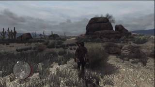 Red Dead Redemption -- Treasure Location #1 @ The Hanging Rock