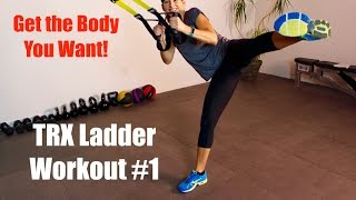 Total Body TRX Ladder - Seriously Fun Circuit for Arms, Legs and Plenty of Core by shortcircuits with Marsha