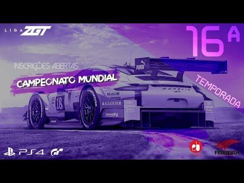 [LIGA ZGT] - 16º Campeonato Mundial Gran Turismo - Classificatória T.T. Barcelona (Bateria 12)