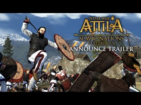 Total War: ATTILA – Slavic Nations Pack Announce Trailer thumbnail