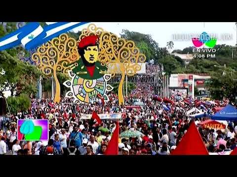 Paz y Justicia demandan miles de nicaragüenses en Managua