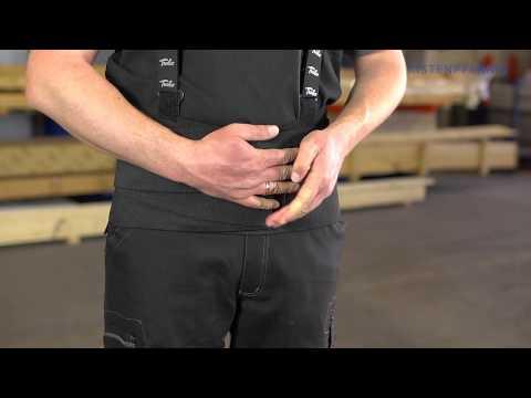 Arbeiten mit einem Rückenstützgürtel - 8 Gebote zum richtigen Anlegen, Kistenpfennig Videoclips