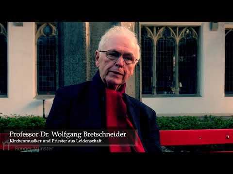 Begrüßung durch Monsignore Bretschneider