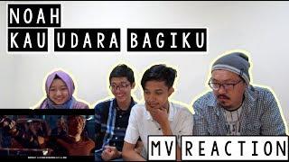 NOAH - Kau Udara Bagiku 'MV Reaction' | Reaksi By FourOne