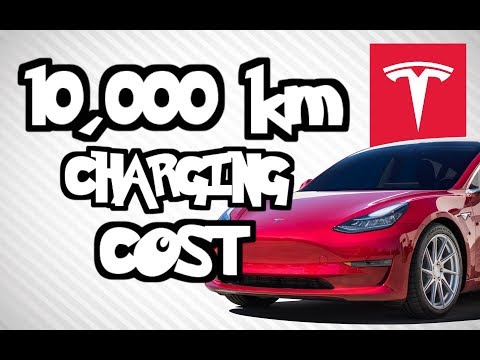 Tesla Model 3: Charging Costs After 10,000km Vs Other Cars