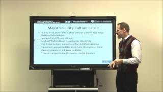 Nuclear Security Culture: the Y12 Incident