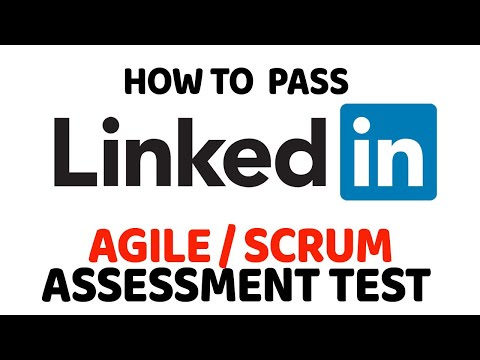 How to Pass LinkedIn Agile & Scrum Certification Assessment Test ...