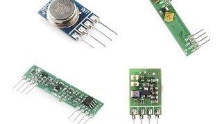 RF Link Receiver - 4800bps 434MHz - Robot Gear