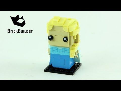 Vidéo LEGO BrickHeadz 41617 : Elsa (La Reine des Neiges)