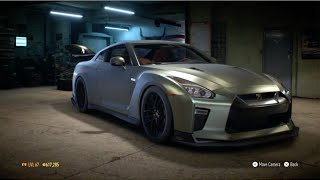 """Need For Speed 2015 - """"Nissan GTR Premium 2017"""" - 1154 HP Build !!! (Gameplay)"""