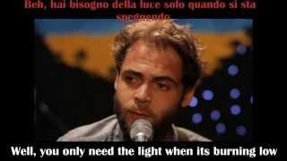 Passenger   Let Her Go   English And Italian Lyrics