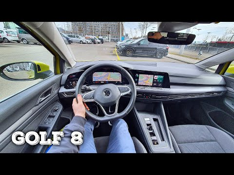 New Volkswagen Golf 8 2021 Test Drive Review POV