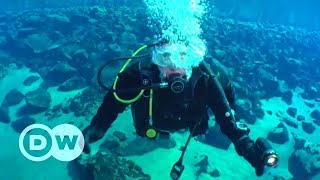 Diving In An Icelandic Crater Lake | DW English