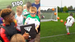 I Donated Kids £100 Football Boots Every Time They Hit The Crossbar