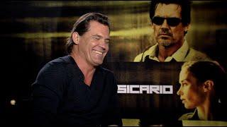 SICARIO interviews - Emily Blunt, Josh Brolin, Benicio Del Toro