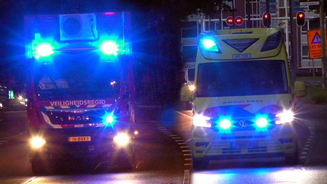 [Primeur][Grip-1][24/09/2020] Hulpdiensten ingezet voor brand in zorgcomplex Sixmastraat Leeuwarden