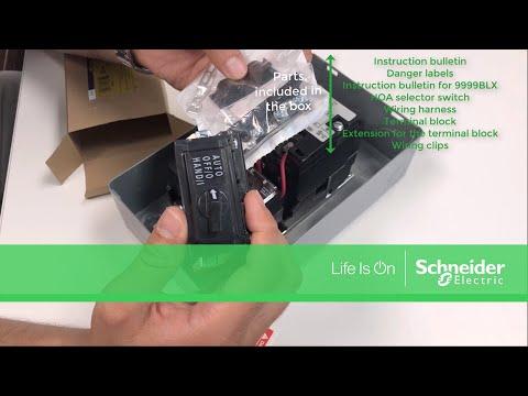 9999SC8 - Hand Off Auto selector switch kit, NEMA 1/3R/12 ... on