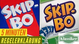 Skip Bo - Regeln - Aufbau - Anleitung - Regelerklärung - Kartenspiel