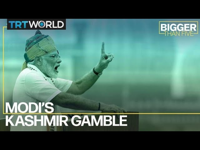 Modi's Kashmir Gamble | Bigger Than Five