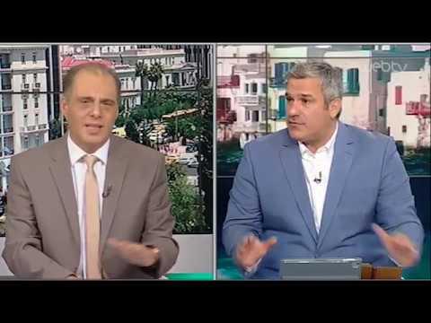 Ο Κυριάκος Βελόπουλος στον Σπύρο Χαριτάτο | 23/07/2019 | ΕΡΤ