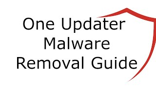 One Updater Malware Removal Guide