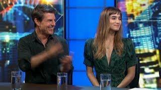 Мумия, Том Круз и София Бутелла побывали в гостях на телешоу The Project TV Australia
