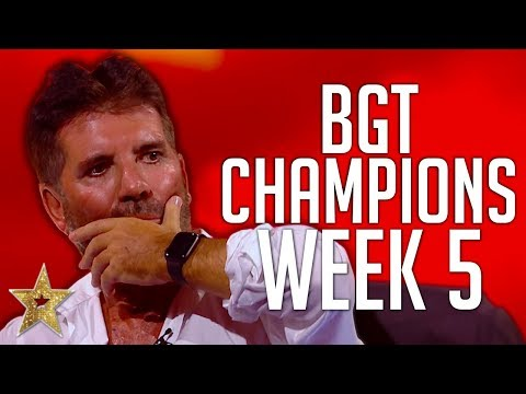 Britain s Got Talent The Champions Auditions WEEK 5 Got Talent Global