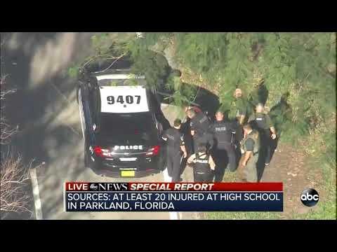 RAW VIDEO: Florida school shooting suspect taken into custody