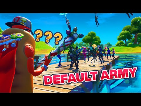 Stream Sniping a Fortnite Fashion Show with a Default Army
