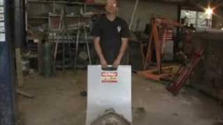 How to Move Heavy Transmission, Engine Block